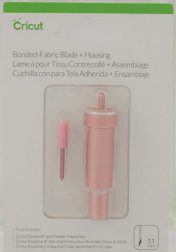 Cricut Bonded Fabric Blade Housing 1 1mm 2004227 Pink Color Etsy Cricut Explore Fabric Cricut