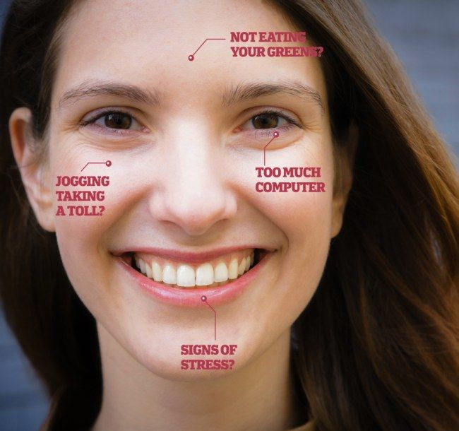 The health warnings written on your face: From overdoing ...