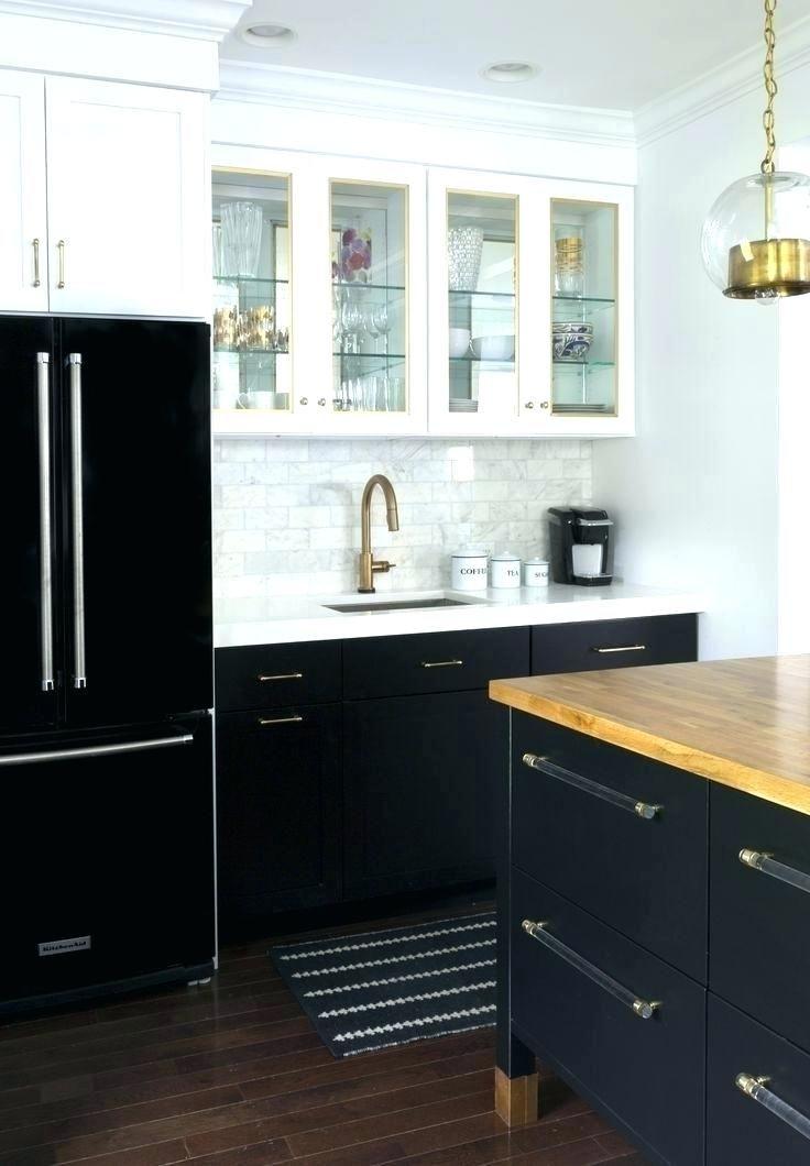 Image Result For Black Lower And White Upper Kitchen Cabinets Black Kitchen Cabinets White Kitchen Design Kitchen Cabinet Design