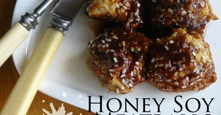 Honey Soy Meatballs