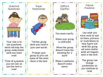 reciprocal teaching cards