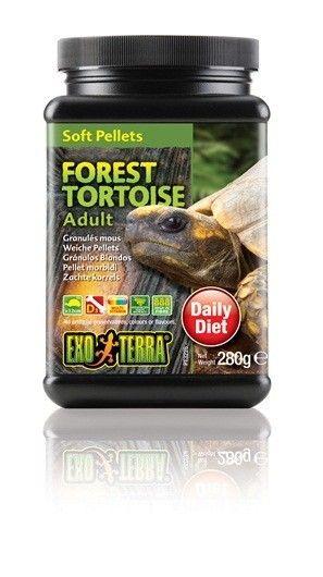 Alimento Tortuga  Forest Adulta EXOTERRA es un delicioso alimentos de reptiles, cuidadosamente formulado para asegurar el crecimiento adecuado y sano mediante una nutrición completa y equilibrada.