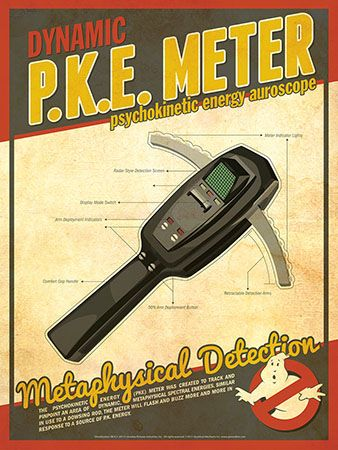 Ghostbusters - P.K.E. Meter by Christian Petersen