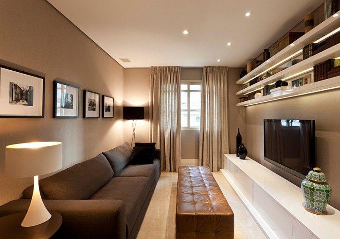 lindo as cores da parede, sofa, rack