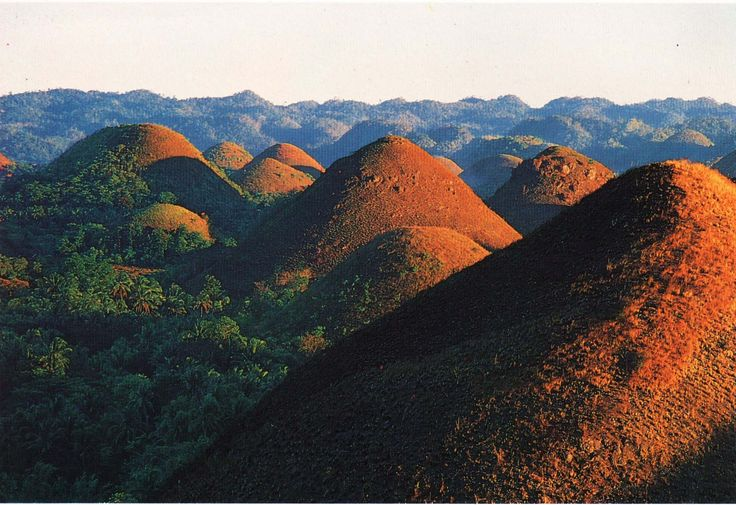 Chocolate Hills of Bohol, Philppines