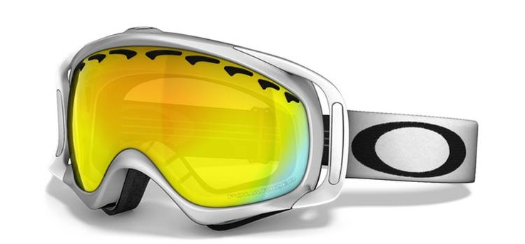 Polarized Crowbar Snow Goggles    Glare is magnified by flat surfaces. Add the reflection of a billion tiny ice crystals and the result is blindingly obvious. Oakley polarization technology eliminates the haze and distortion of conventional polarized lenses, giving you the best possible protection against glare.