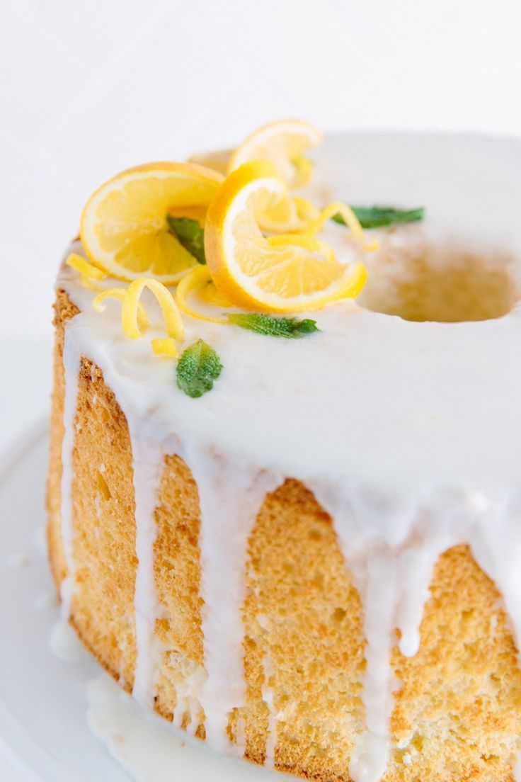 A chiffon cake is in the family of aerated, egg-based foam cakes — like sponges and angel food cakes — all sky-high and light. With the addition of oil, a chiffon bakes up into one of the most versatile cakes in the baking repertoire. They're great with a simple glaze; they can be cut in half and filled with flavored whipped cream, mascarpone, or custard; or used instead of ladyfingers in a Charlotte cake or a trifle.