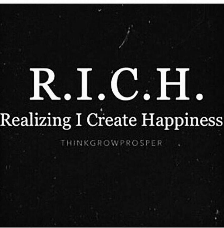 I am filthy rich!
