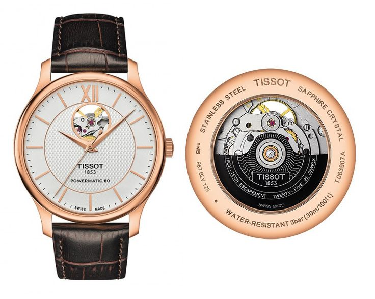 Tissot Tradition Automatic Open Heart T063.907.36.038.00