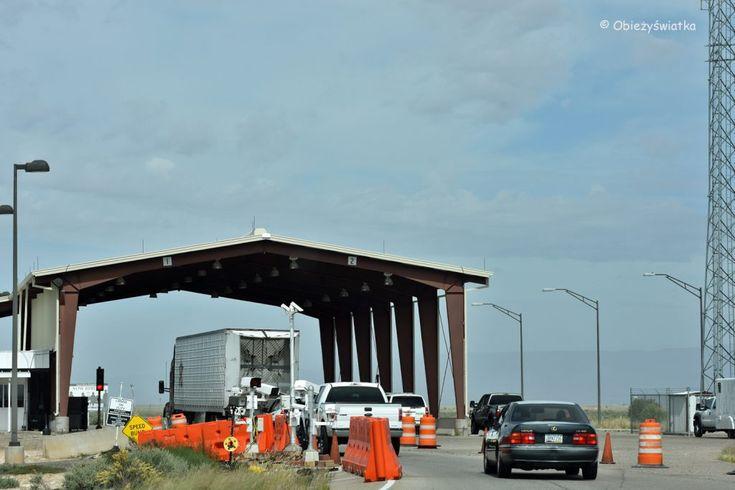 US Border Patrol Checkpoint, Nowy Meksyk, USA