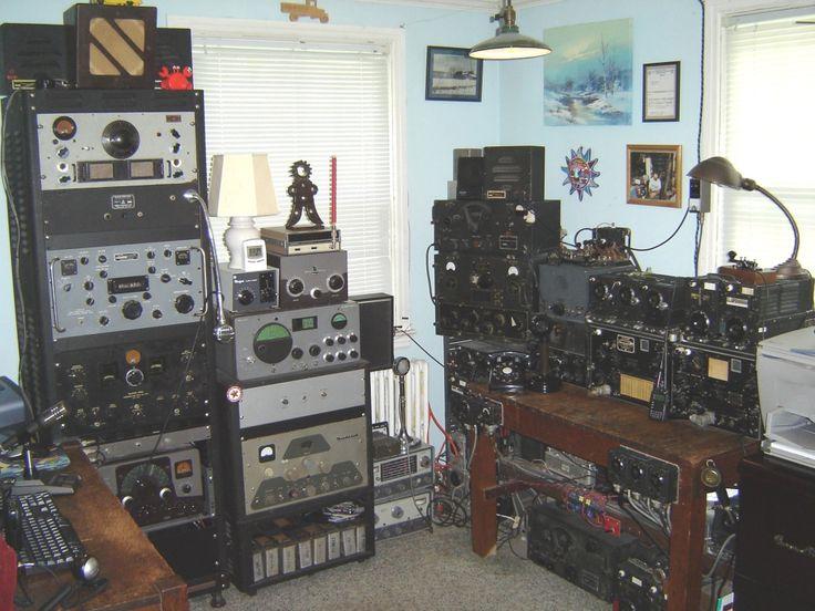 362 best ham radio images on pinterest ham hams and radios for Classic house radio station