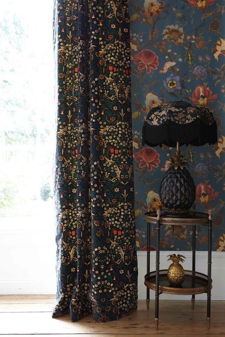 House Of Hackney x William Morris   Victorian/Gothic; pattern and colour is back!