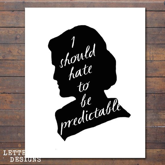 Printable Downton Abbey Quote, Lady Mary Quote