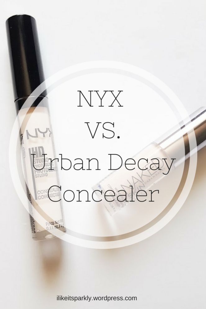 I've shared another dupe post on the blog today, this one all about the nyx hd concealer and the urban decay naked skin concealer. Check it out if you want to see if these two are dupes or not.