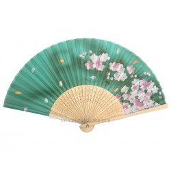 Eventail japonais sakura