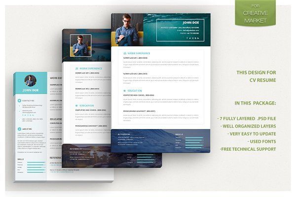 833 best CV Design #Resume #Job #Search images on Pinterest - powerpoint designer resume