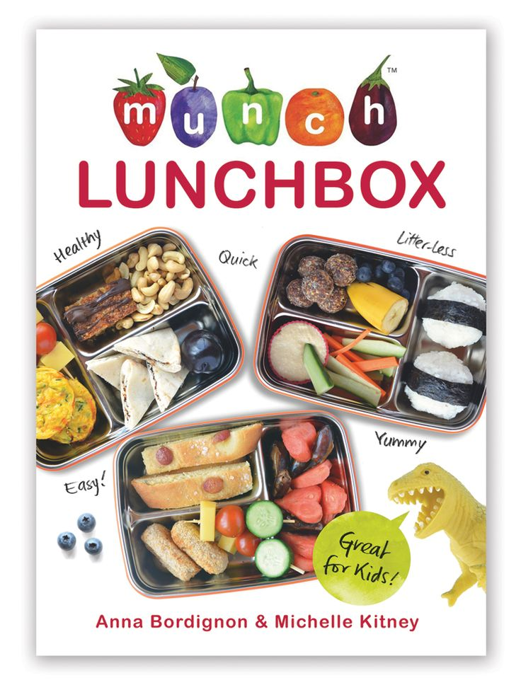 The new Munch Lunch Cookbook: getting great reviews.