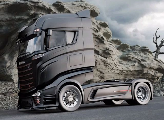 Scania 1000 concept truck