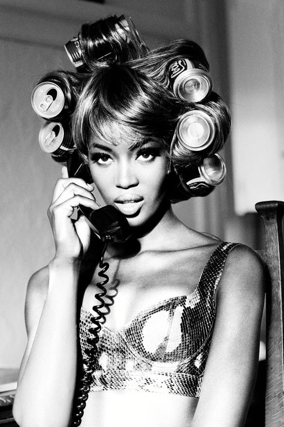 Naomi Campbell - aim in life is to be as big as a diva as her.  Queen.