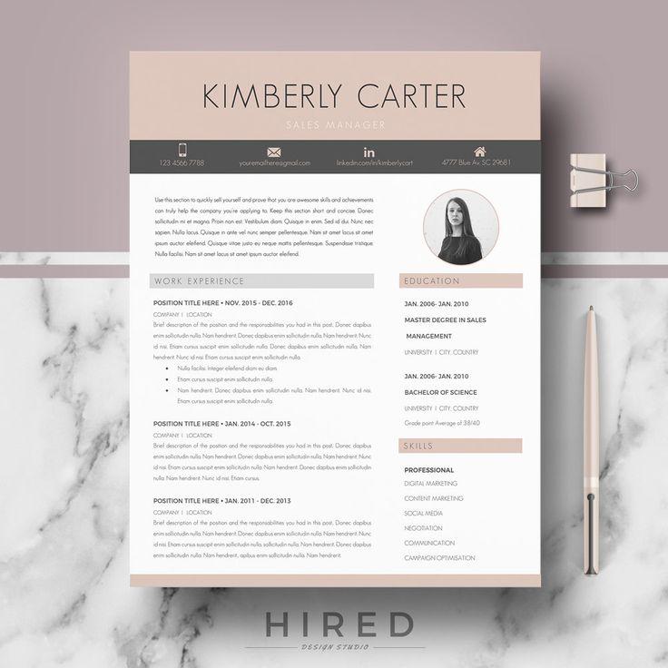 13 best modern resume templates images on pinterest resume