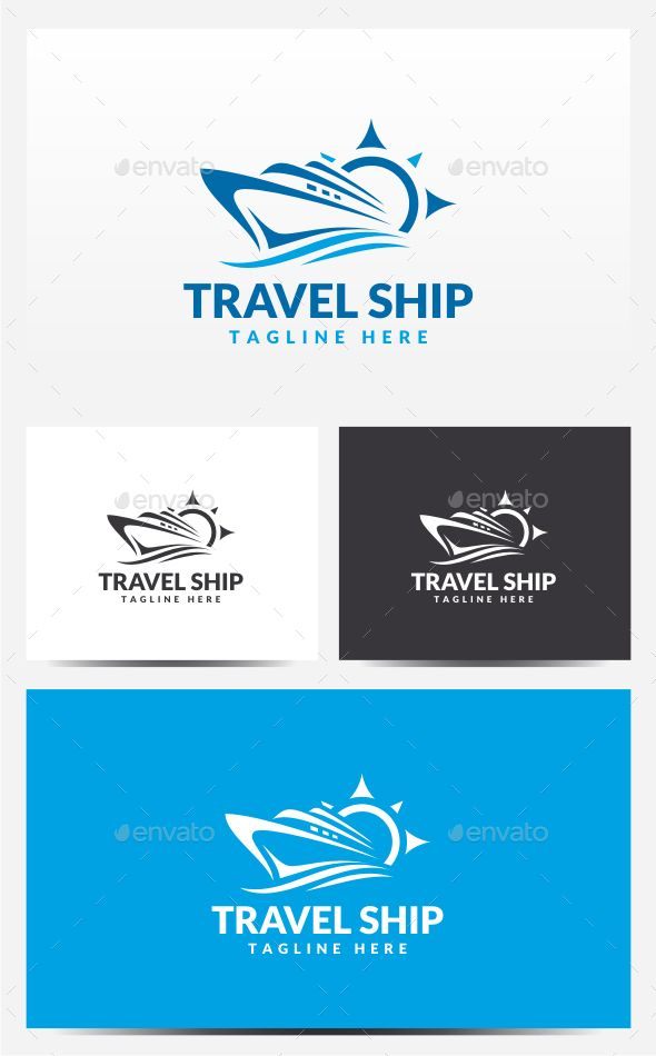 Ship Logo Template - Objects Logo Templates