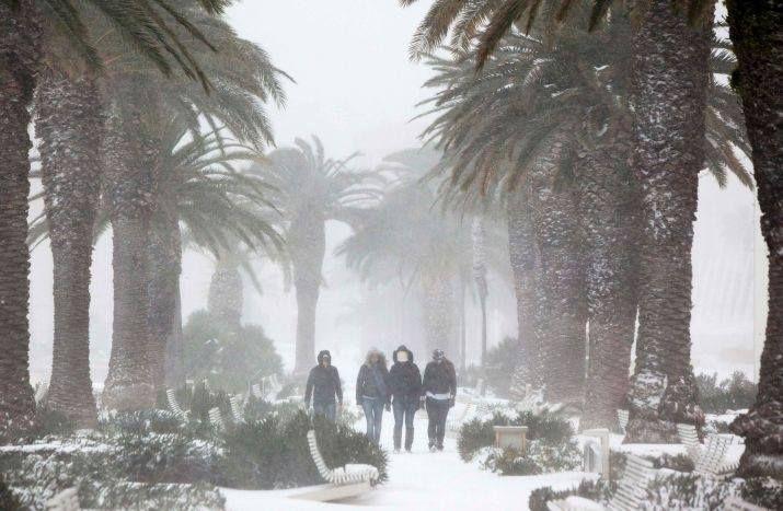 Zima w Splicie :)