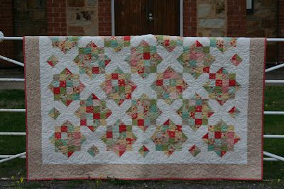England Street Quilts: Quilts - free Briar Rose pattern (jelly roll)