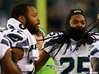 Richard Sherman and Michael Bennett, tell us how you really feel about the NCAA?