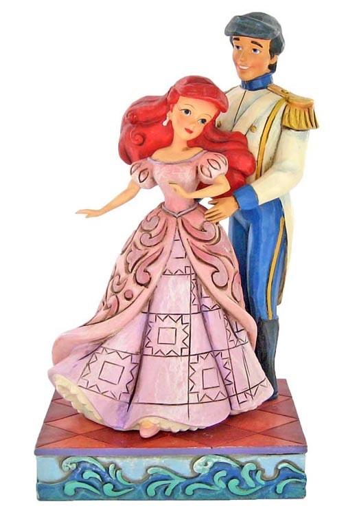 Ariel Weddingdress Cake Topper