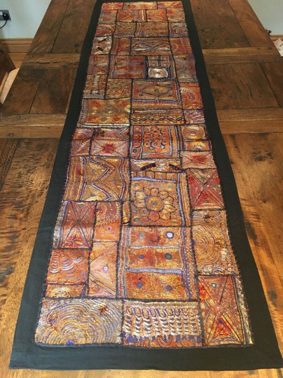 Ethnic Wall tapestry / Wall hanging / Table deco / Wall by Sajavat