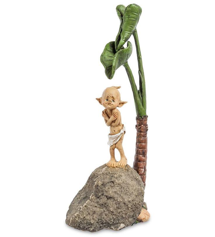 Фигурка «Гном» ED-227      Страна производства: Китай;   Материал: полистоун;   Высота: 29 см;          #figurines #polyston #polyresin #статуэтки #фигурки #полистоун #гном