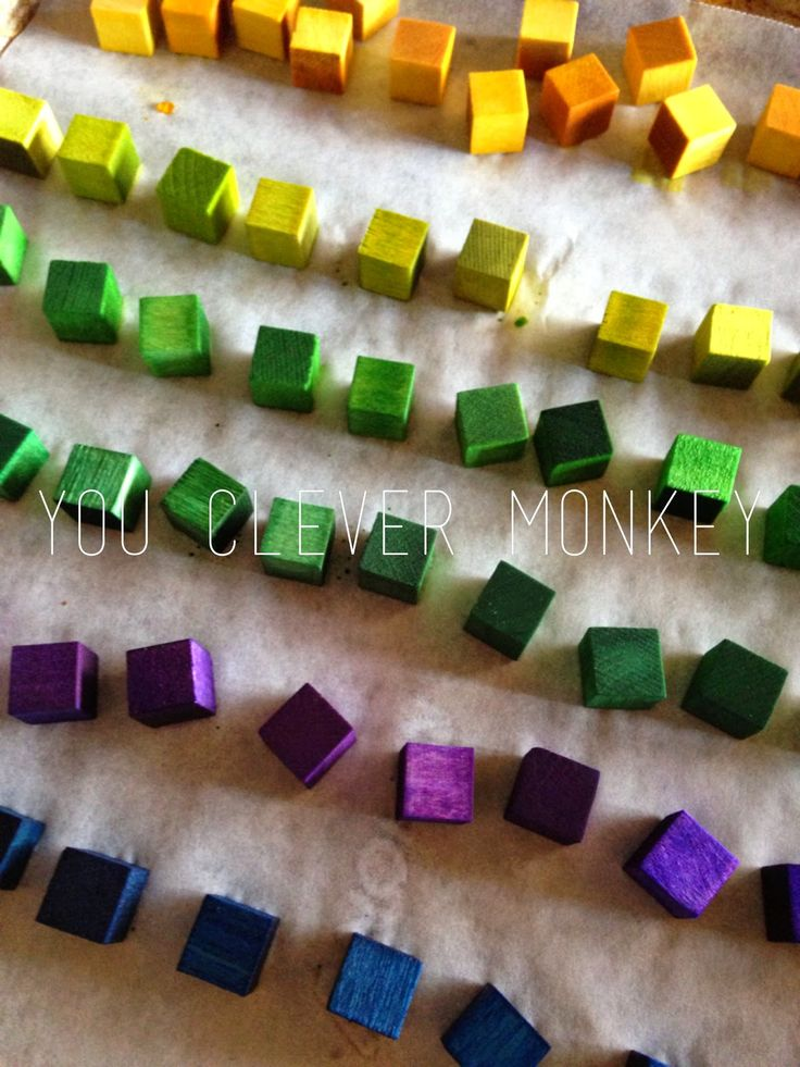 colorful mini magnetic blocks - a fun DIY toy for kids