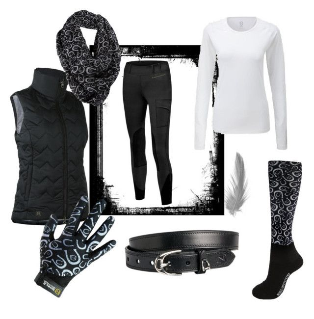 """Balance Riding Tights & Granite Horseshoe"" by amnbech on Polyvore featuring mode"