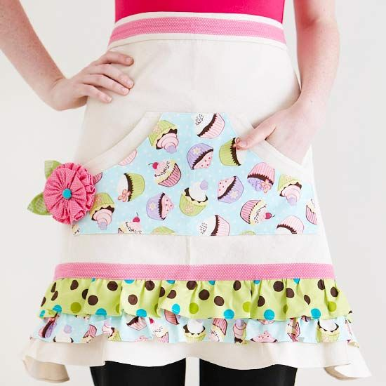 Fun Canvas Apron _ Tutorial