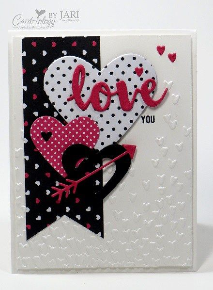 193 best Cards  Hearts and Love images on Pinterest  Valentines