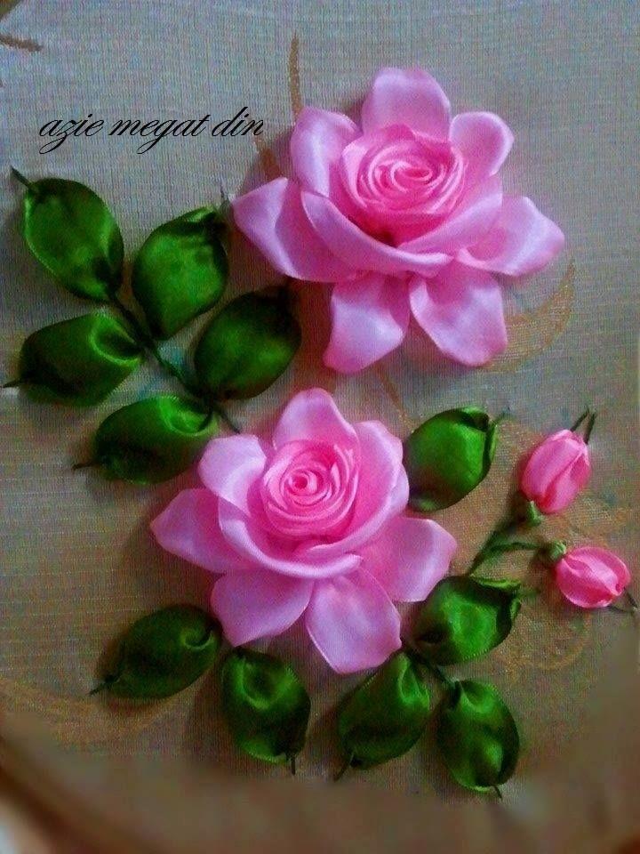 rosas en cinta
