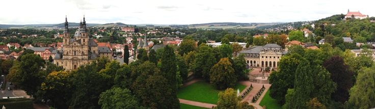 Dom, Schlossgarten, und Orangarie - Fulda, DE / Cathedral, Castle Garden, and Orangery - Fulda, Germany / taken by GerhardEric.com