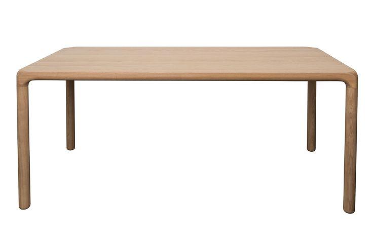 De Storm eettafel is van het merk Zuiver. Deze tafel is gemaakt van essenhout. De tafel heeft afgeronde hoeken en ronde poten. Deze tafel is 220 cm lang en 90 cm breed.Afmeting (hxbxd): 75x220x90 cm.. meer informatie