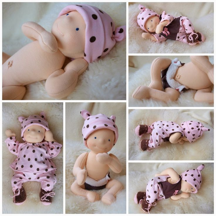 ".................. ivaDolls ..................: New experiment - 14"" and 12"" baby dolls:"