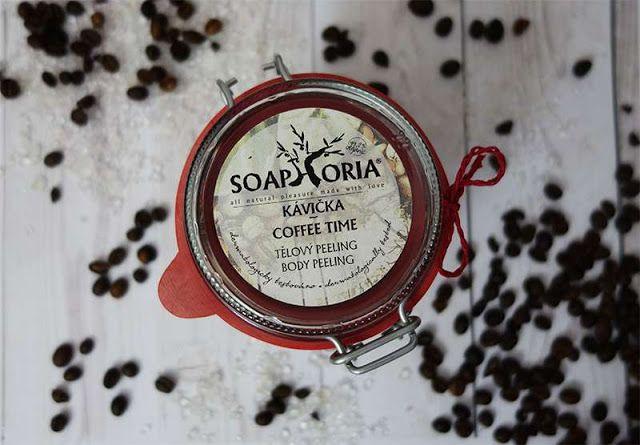 All my cosmetics: Kávový peeling Soaphoria