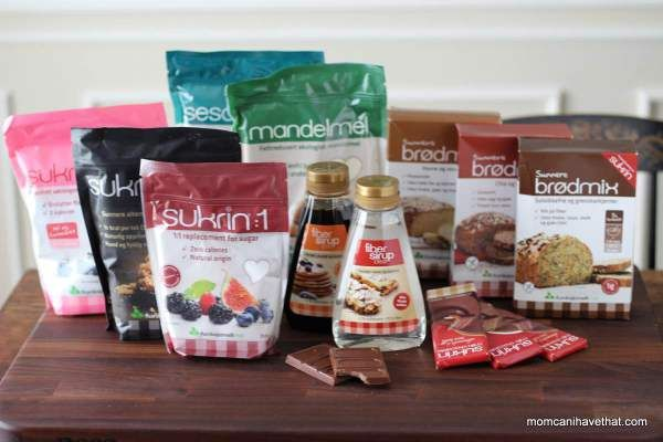 Meet the Sukrin Sugar-Free and Low Carb Products Family. I'll be creating recipes and reviewing the products. They are SF, GF & SoyF |