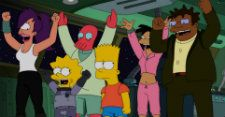 THE SIMPSONS: Yeardley Smith Teases the FUTURAMA Crossover | Give Me My Remote