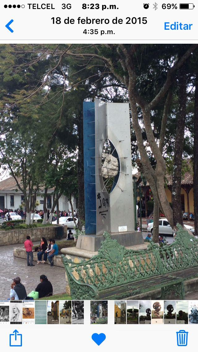 Simposio Internacional de escultura en Comitan Chiapas