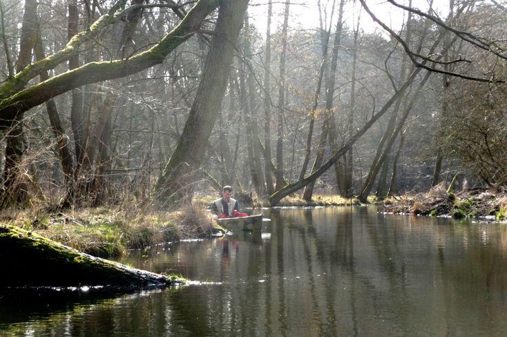 Löcknitz Erkundung im Kanu