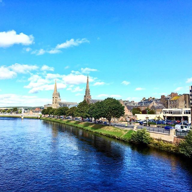 Leaving #Inverness after a great conference meeting up with old and new friends. Thanks for hosting us during the fabulous #stsinverness gathering and event @visitinvernesslochness Looking forward to come back to this beautiful city! #omgb #travel #scotland #lovegreatbritainno