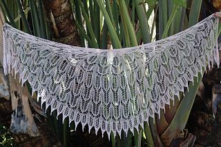 Ravelry: Shield Maiden Shawl pattern by Kristin Omdahl