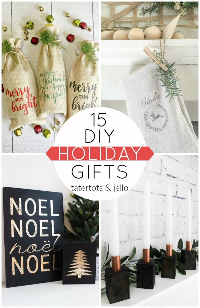 Great Ideas 15 DIY Holiday Gifts