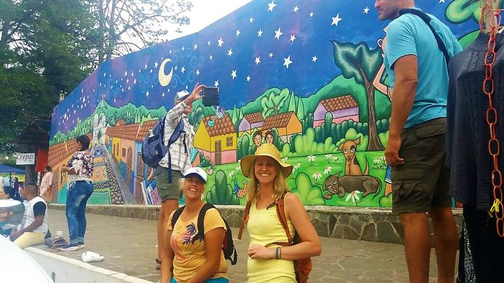 Ataco is a town with a lot of murals , this you can see it a the Ruta de Las Flores for more info visit www.ectourselsalvador.com
