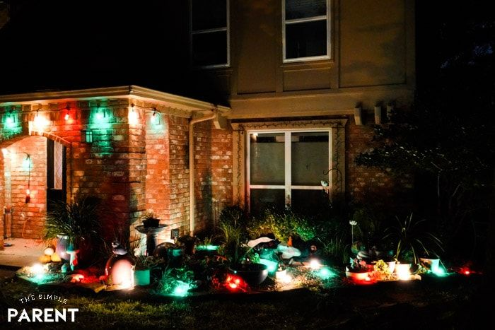 Outdoor Christmas Decorations Don T Have To Be Complicated Or Stressful To Be Gorgeous Christmas Light Installation Christmas Lights Hanging Christmas Lights