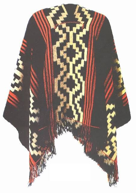 Mapuche serape, in love with this...